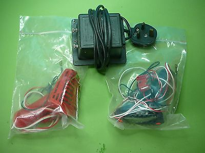 Scalextric Classic Transformer And Hand Controllers