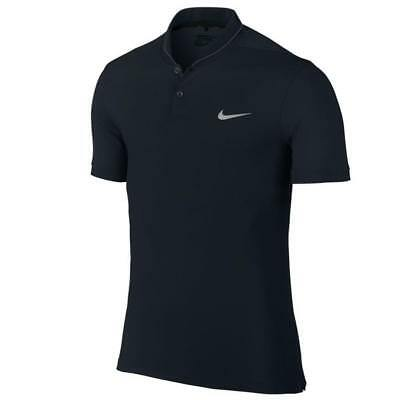 Nike GOLF Modern Fit Dry Roll Men's Golf Polo Shirt - Black