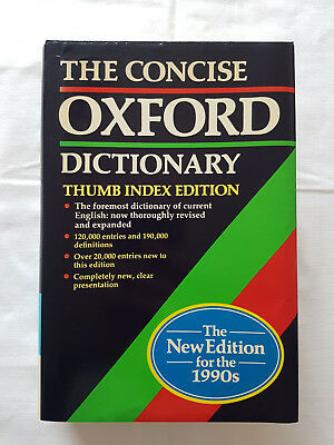 The Concise Oxford Dictionary of Current English, 8th edition. Hardly any signs of use