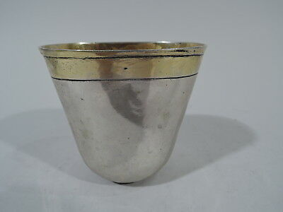 Antique Beaker - Cup w/ Nuremberg Hallmark - German Silver - 18th C
