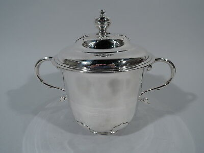George V Trophy Cup - Antique Covered Urn - English Sterling Silver - 1913