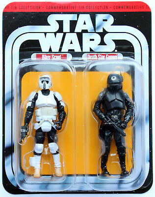 Star Wars 30Th Anniversary Tin Collection Two Pack Biker Scout Death Star Gunner