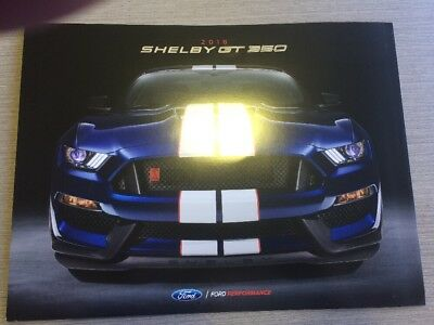 2018 Ford Mustang Sales Brochure Shelby GT-350 And Tech Data