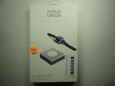 Native Union ANCHOR Base for Apple Watch 38mm and 42mm - Silver/Gray
