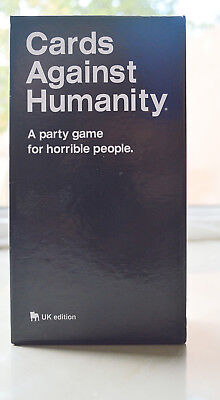 Cards Against Humanity Playing Cards Game UK edition 550 Card Full Base Set Pack
