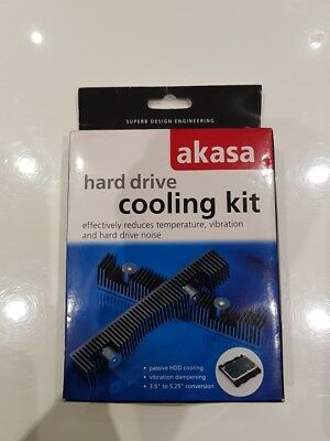 "Hard Drive Cooling Kit. 3.5"" Sata and IDE HDD Cooling kit."
