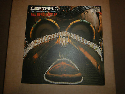 "Leftfield Featuring Djum Djum ‎– The Afro-Left EP [12"" Single]"