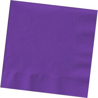 Amscan International 5 Din/nap S/c Hict 2ply:purple - Napkins 2ply 50 Luncheon