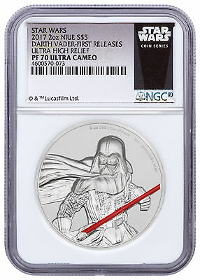 2017 Niue Star Wars - Darth Vader UHR 2 oz Silver NGC PF70 UC FR SKU49475