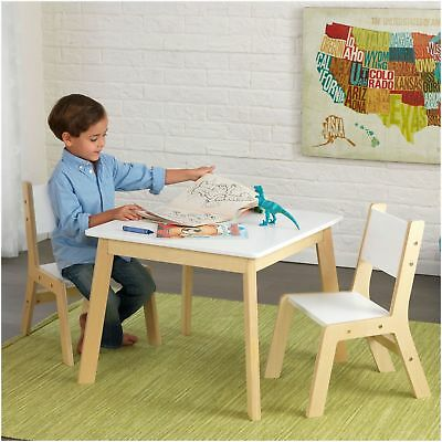 Modern Table & 2 Chair Set - 27025
