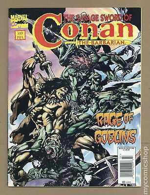Savage Sword of Conan (1974 Magazine) #235 GD/VG 3.0