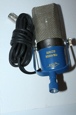 APEX 210 Ribbon Microphone Works Age Unknown VGC