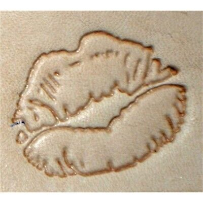 Emojii Lips Craftool 3-d Stamp 8587-00 By Tandy Leather - 3d 858700