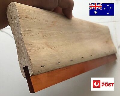 Screen Printing Squeegee 33cm high quality polyurethane blade Made In Australia