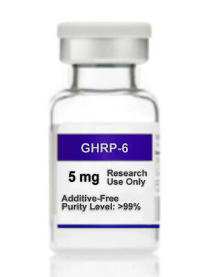 GHRP-6 Hexa-Peptide 5mg Lab Research Chemical 5 MG