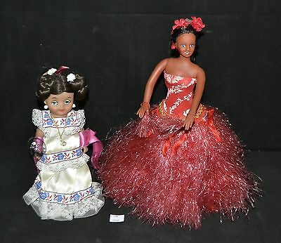 ThriftCHI ~ Polynesian Hula Dancer Doll & Other Ethnic Doll