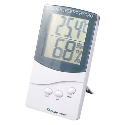 Digital LCD Humidity Hygrometer and Temperature Thermometer