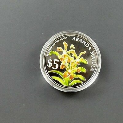 2006 Heritage Orchid of Singapore Silver Proof Coin