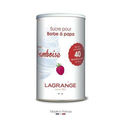 LAGRANGE Sucre a barbe a papa framboise ? 1 kg