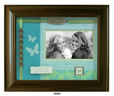 Sisters Shadow Box Walnut Wood Picture Frame - Leeber L20806
