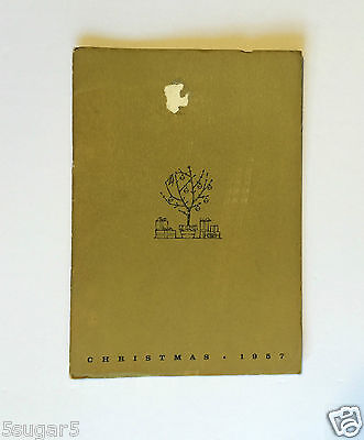 GOODYEAR TIREs & RUBBER Xmas 1957 FOREVER GREEN BOOKLET advertising collection