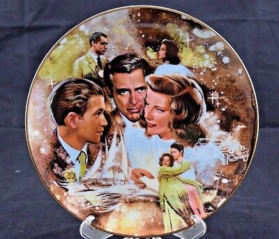 "The Golden Age of Cinema ""The Philadelphia Story"" MGM Collectors Plate L41"