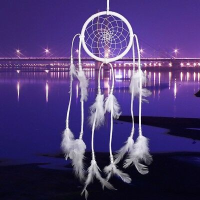Handmade Dream Catcher With Feathers Wall Hanging Decoration Ornament Gift New