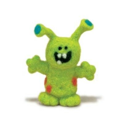 Dimensions Needle Felt Kit - Monster - Felting D7273797 Multicolour