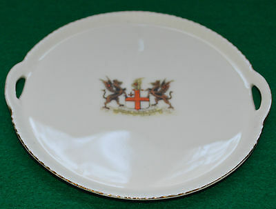 GEMMA CRESTED WARE TRAY CITY of LONDON
