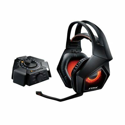 Asus ROG Strix 7.1 Dolby Surround Sound Wired Gaming Headset w Audio Station AH