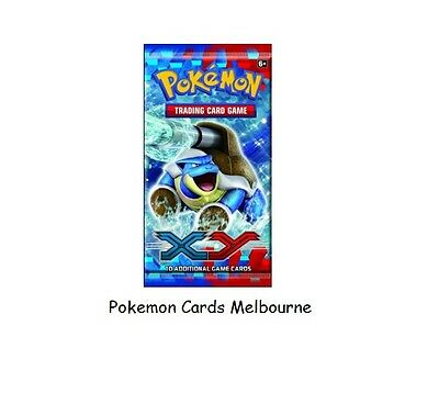 XY Base Set Booster Pack Pokemon Trading Card Game New Retro Rare Boosters (Aus)