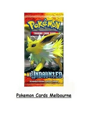 HS Undaunted HGSS Pokemon Booster Pack TCG Rare Retro Card Pack (Aus)