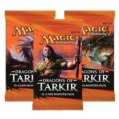 MAGIC: THE GATHERING Dragons of Tarkir Booster Pack x1 New (Aus)