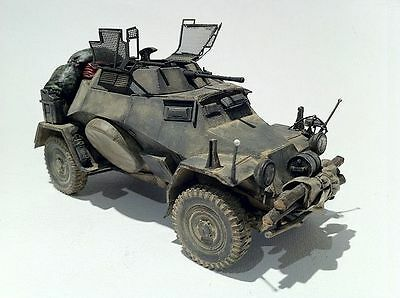 1/72 Al.By top Resin Kit Kit 889 - Sd.Kfz. 222 Afrika Korps and WH ,selten..OVP