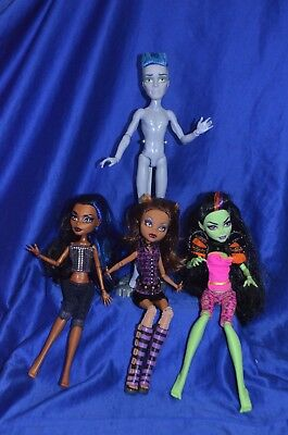 Monster High Dolls - All By Mattel - Lot of 4 -