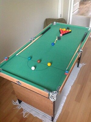 4ft x 2ft Snooker/Pool Table