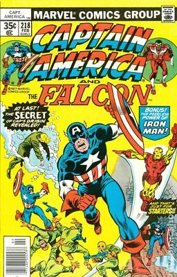 Captain America (1968 1st Series) #218 VF