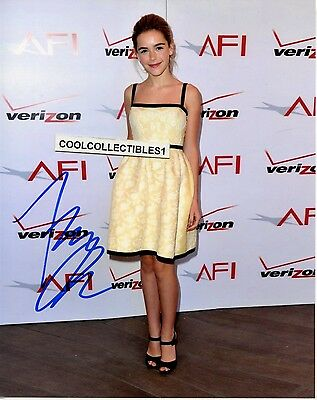 "Kiernan Shipka In Person Signed 8X10 Color Photo 10 ""proof"""