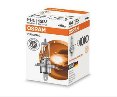 1 x 12V H4 55/60W OSRAM Original Bilux Car Bulb Headlight Halogen Lamp 64193