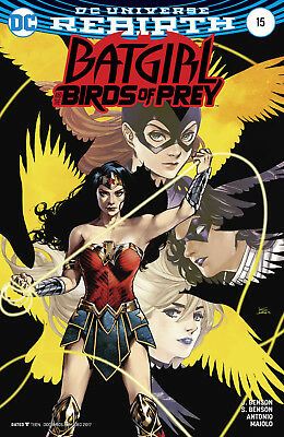 Batgirl And The Birds Of Prey #15 (2016) 1St Print Variant Cover Dc Uni Rebirth