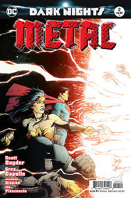 Dark Nights Metal #2 (Of 6) (2017) 2Nd Printing Bagged & Boarded Dc Batman