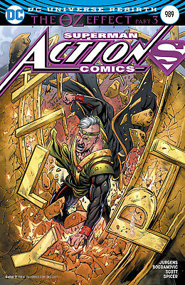 Action Comics #989 (2016) 1St Printing Variant Cover Superman Oz Effect Dc