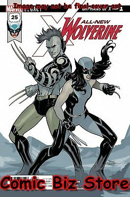 All New Wolverine #25 (2017) 1St Printing Bagged & Boarded Marvel Legacy Tie-In