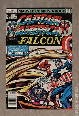 Captain America (1968 1st Series) #209 VF 8.0