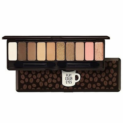 [Etude House] Eye Shadow 10 Colors Play Color Eyes Palette Set In The Cafe