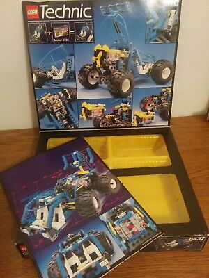 LEGO Technics 8437 Off-Road Future Car BOX AND INSTRUCTIONS ONLY