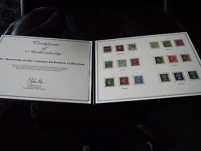 Monarchs Of The Century - Definitive Collection - C/w Coa In Westminster Folder