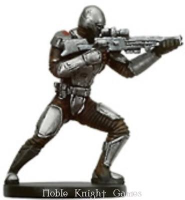 WOTC Star Wars Minis Bounty Hunter Mandalorian Supercommando NM