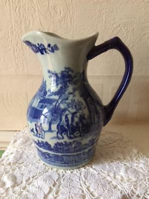 Victoria Ware Ironstone Pottery Jug Reproduction of 19th Century Design