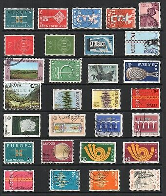 EUROPA Thematic STAMP COLLECTION Used REF:TS386